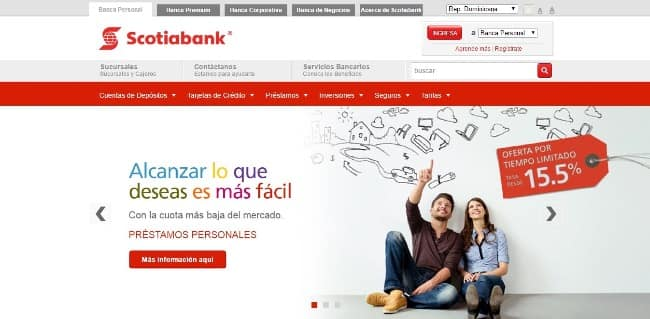 Scotia Bank - préstamo de hasta RD$250 000